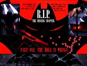 Immagine tratta da Batman #701 di Morrison e Daniel