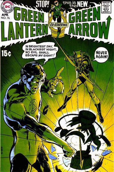 Cover di Green Lantern #76 –1970