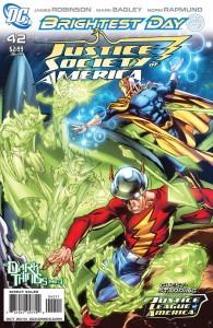 La cover di JSA #42