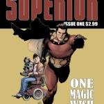 La cover del primo numero di Superior