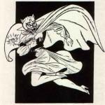 La Catwoman delle origini con maschera da Gatto – 1940