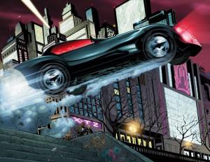 La nuova Batmobile