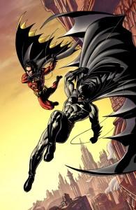 Batman e Robin disegnati da Andy Kubert
