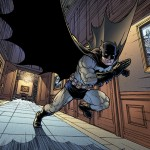 Batman disegnato da Burnham