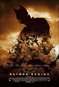 Batman Begins - locandina