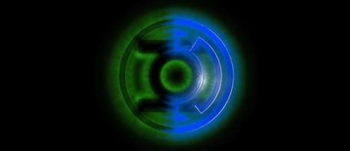 Green:Blue Lantern
