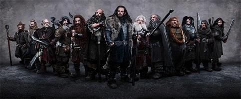 The Hobbit Dwavers - I nani de Lo Hobbit