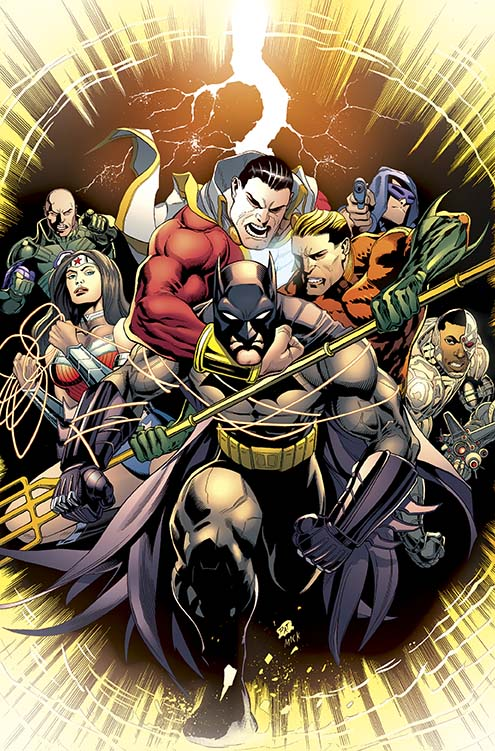 "Cover di ""Batman and Robin"" #33"
