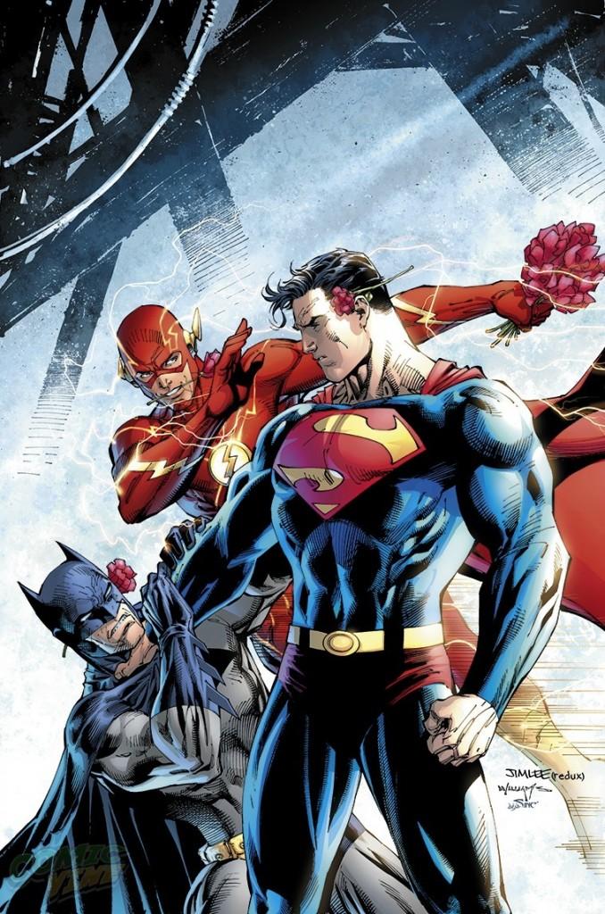 """""""Batman/Superman"""" #18 by Jim Lee"""
