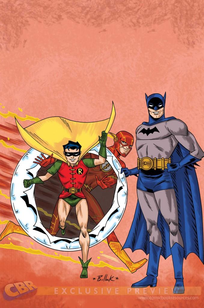 """""""Batman and Robin"""" #38 by Dave Bullock"""