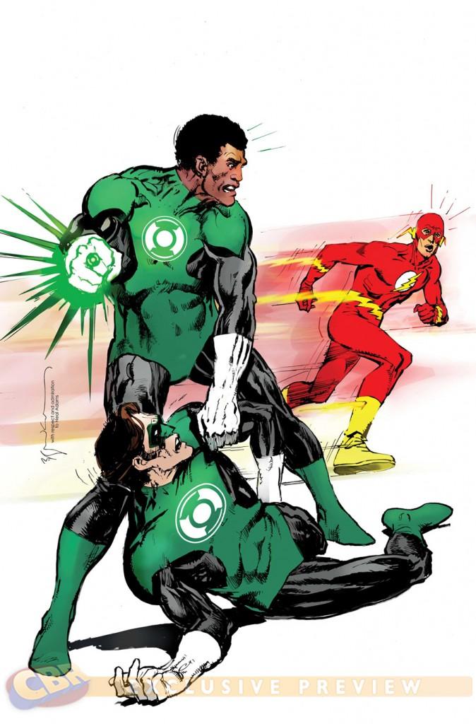 """""""Green Lantern Corps"""" #38 by Bill Sienkiewicz"""