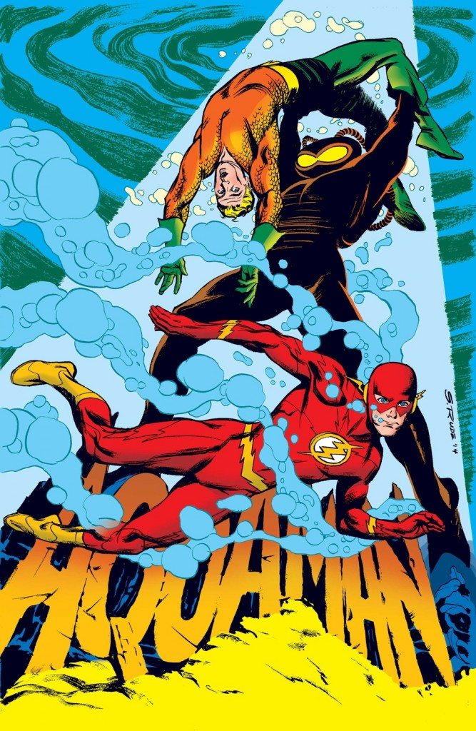 """""""Aquaman"""" #38 by Steve Rude"""