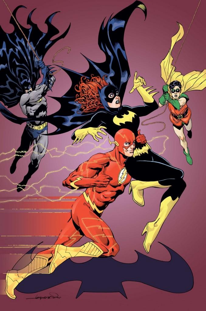 """""""Batgirl"""" #38 by Aaron Lopresti"""