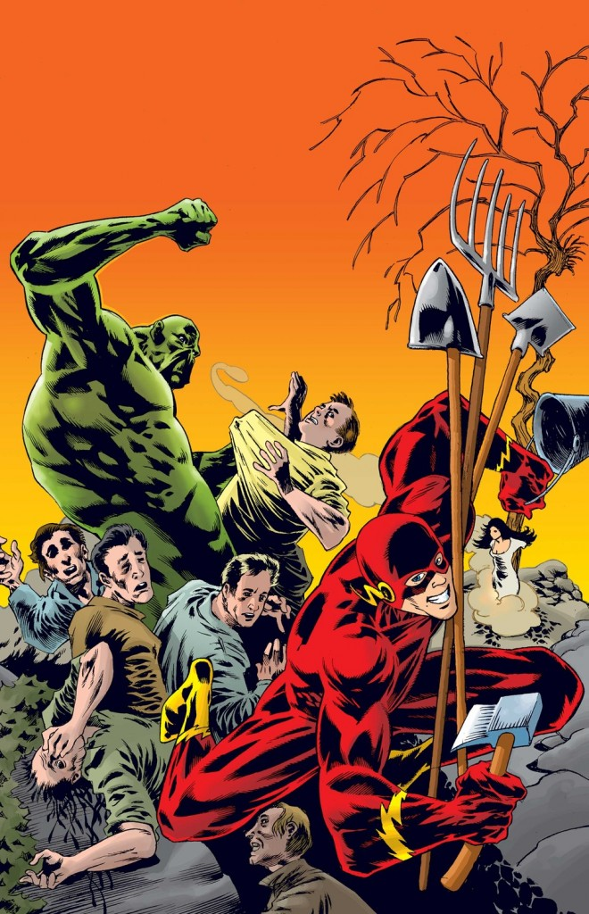 """""""Justice League Dark"""" #38 by Kelley Jones"""