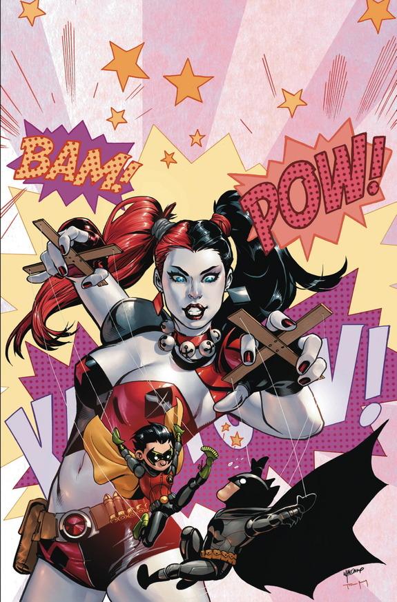 Batman & Robin #39 by Emanuela Lupacchino & Tomeu Morey