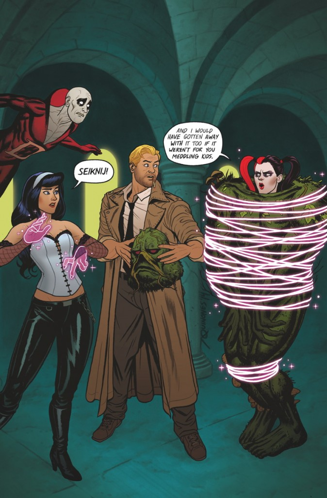 Justice League Dark #39 by Joe Quinones