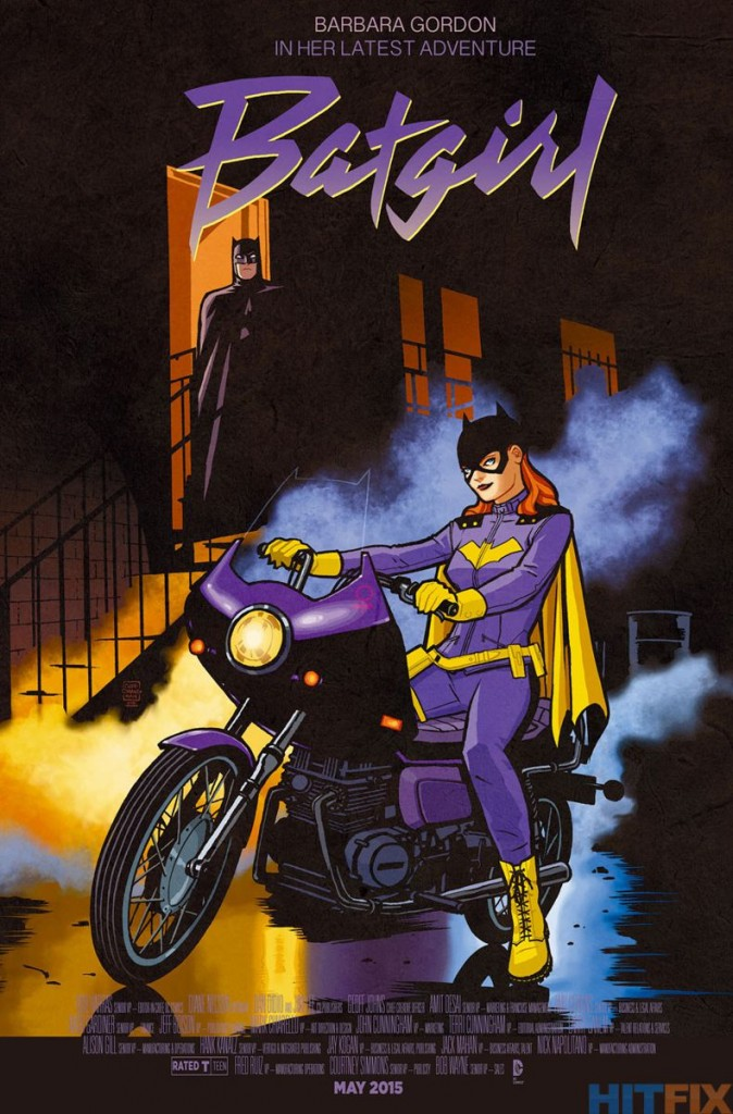 BATGIRL #40 inspired by PURPLE RAIN, with cover art by Cliff Chiang