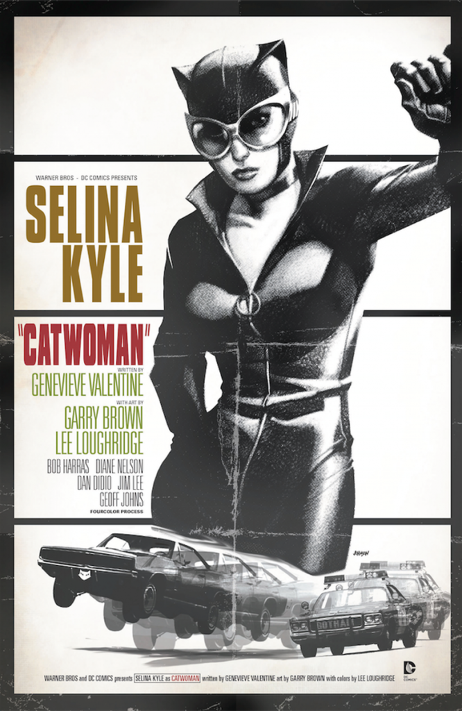 CATWOMAN #40 inspired by BULLITT, with cover art by Dave Johnson