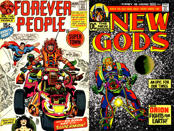 Forever People e New Gods 1