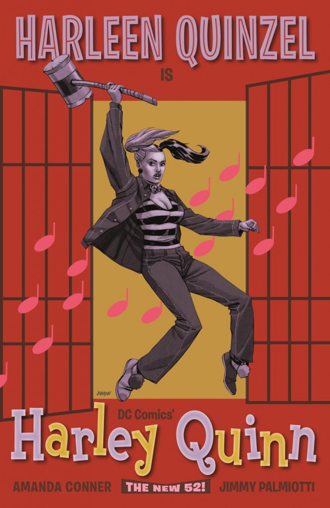 HARLEY QUINN #16 inspired by JAILHOUSE ROCK, with cover art by Dave Johnson