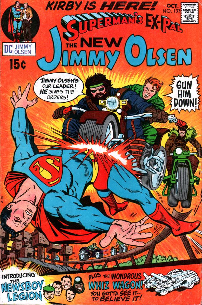 Jimmy Olsen133 Kirby