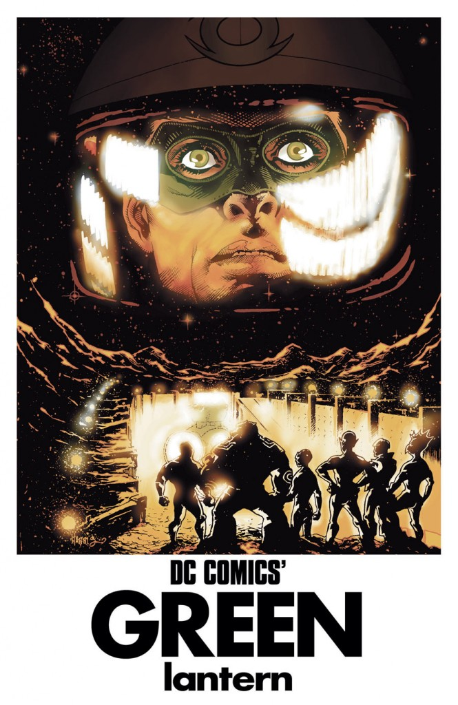 GREEN LANTERN #40 inspired by 2001: A SPACE ODYSSEY, with cover art by Tony Harris
