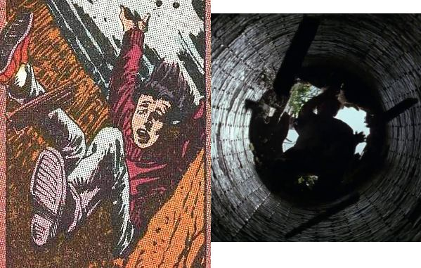 "Batman Begins  Secret Origins, ""L'uomo che cade"" - 1989 Testi di Dennis O'Neil Disegni di Dick Giordano"