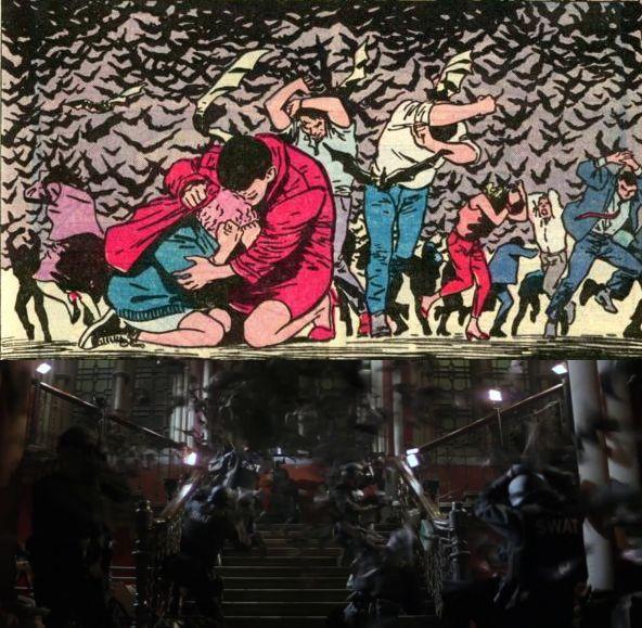 """Batman Begins Batman #404 - """"Anno Uno Capitolo 3"""" - 1987 Testi di Frank Miller Disegni di David Mazzucchelli"""