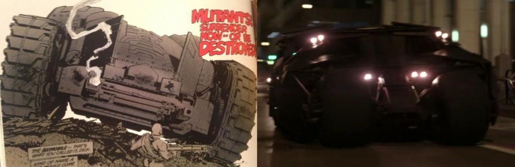 "Batman Begins Batman: Il ritorno del Cavaliere Oscuro #2 ""Il trionfo del Cavaliere Oscuro"" - 1986 Testi e disegni di Frank Miller"