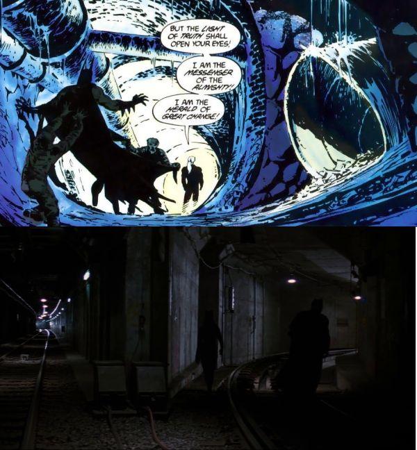 Il Cavaliere Oscuro - Il Ritorno Batman: La Setta #1 - 1988 Testi di Jim Starling Disegni di Bernie Wrightson