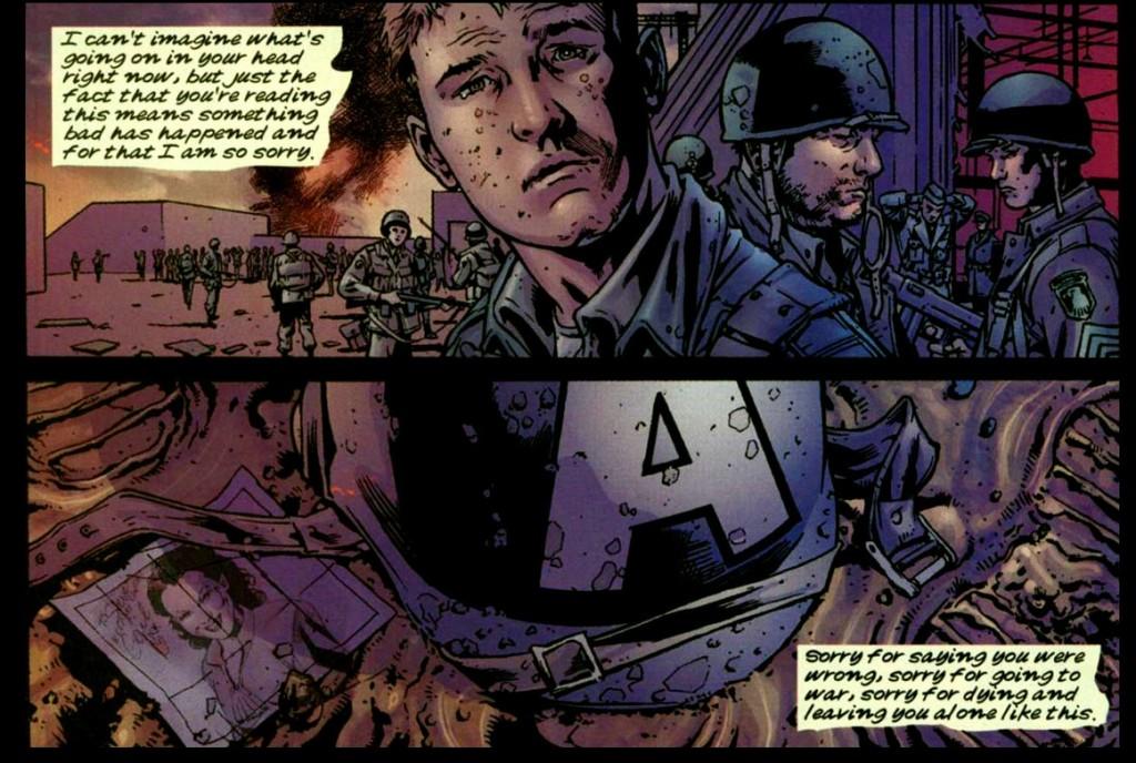 Mentre il mondo perde un grande eroe, Bucky Burnes piange la morte di un amico