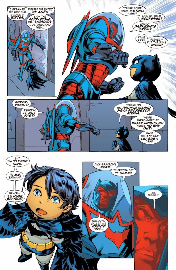 I Batman di due mondi si incontrano!
