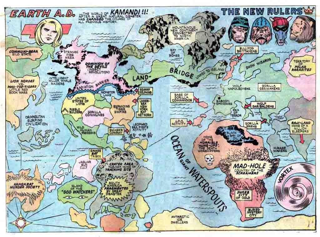 La mappa originale di Kirby è quella che il principe Tuftan tiene in mano in quest'albo
