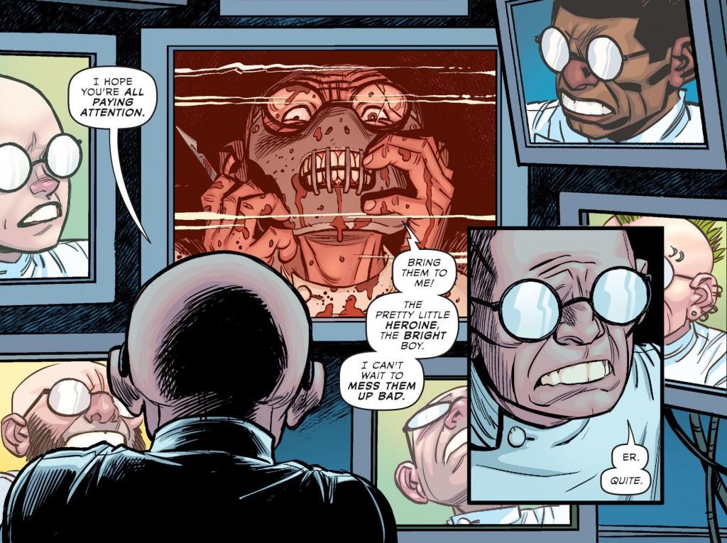 Lecter Sivana, probabilmente nativo di Terra-40 e agente più stretto della Cerchia in questo numero.