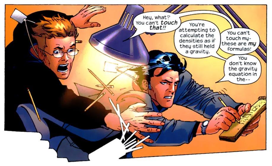 Victor Van Damme aiuta a modo suo Reed