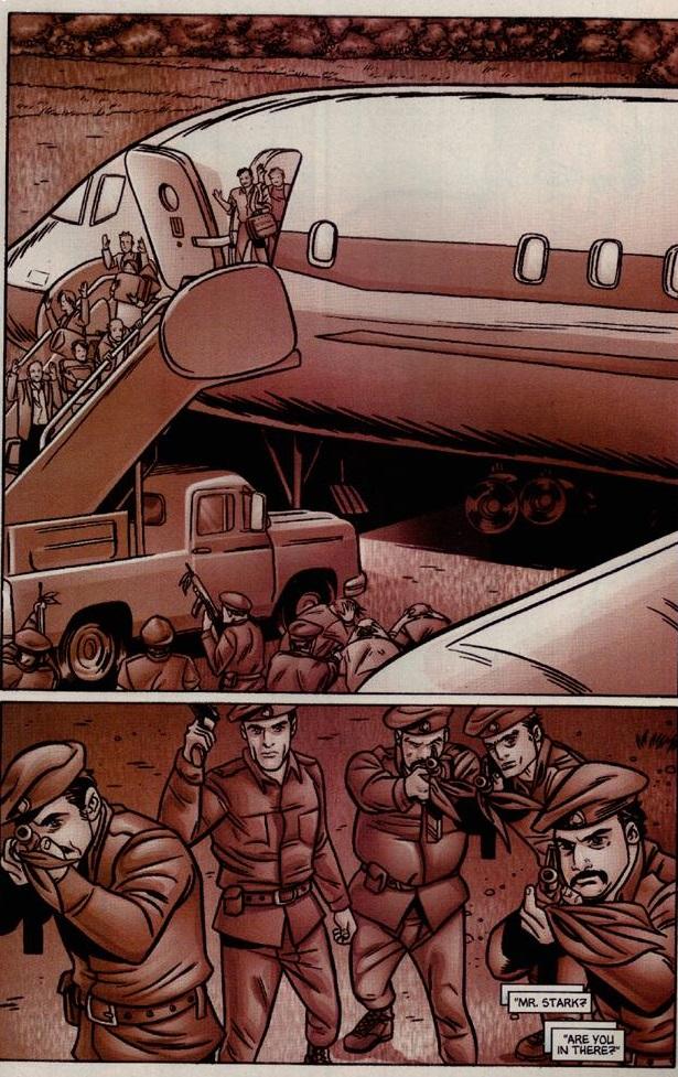 Il tragico rapimento di Tony Stark, Morgan Stark ed i passeggeri del volo di linea per il Guatemala.