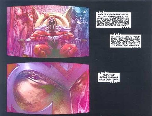 Magneto rivendica l'attentato al Pentagono - Il video è trasmesso sulle reti di tutto il mondo