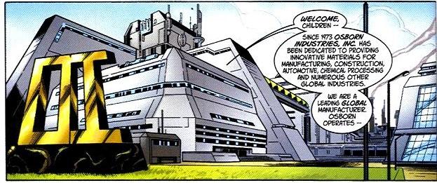 L'Opulento Ingresso delle Osborn Industries