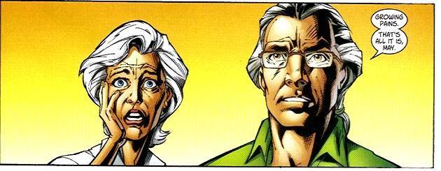 Zio Ben e Zia May non sono abituati a vedere Peter comportarsi così.