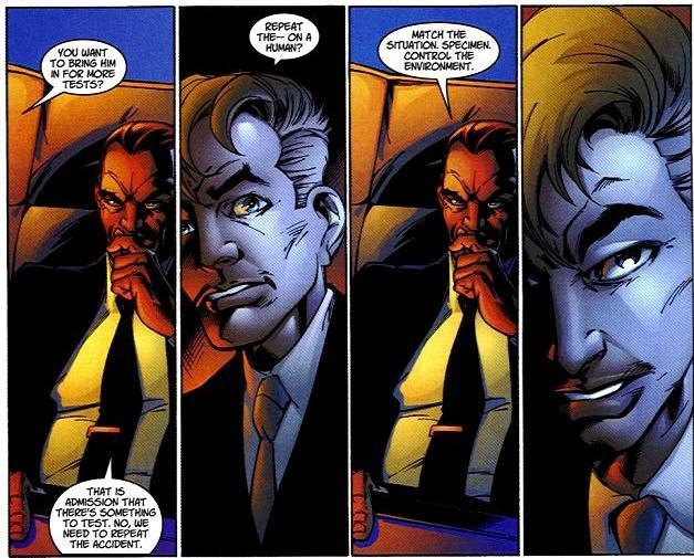 Norman Osborn prende la decisione che cambierà per sempre la sua vita.