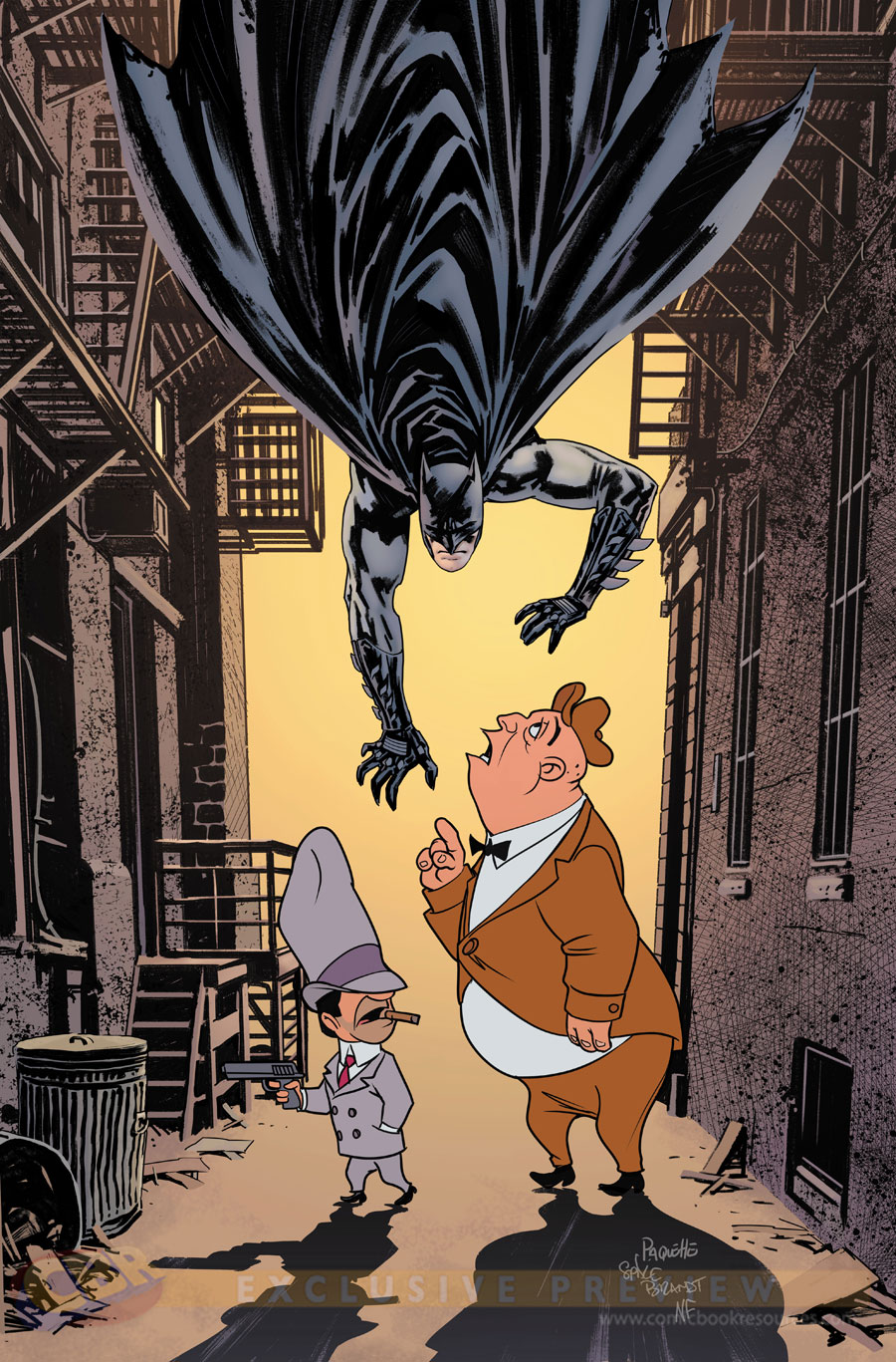 """Batman"" #46 by Yannick Paquette & Nathan Fairburn  and Warner Bros. Animation"