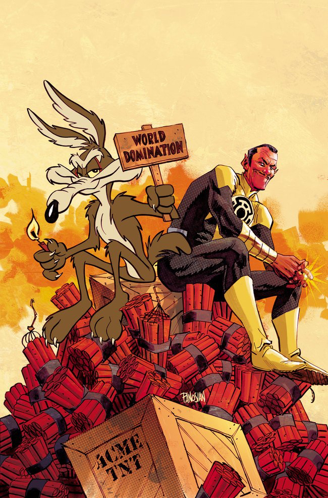 Sinestro #17 by Dan Panosian and Warner Bros. Animation