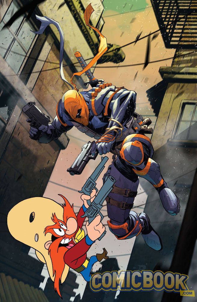 Deathstroke #12 by Ryan Benjamin and Warner Bros. Animation