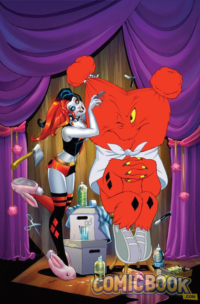 Harley Quinn #22 by Amanda Conner & Paul Mounts and Warner Bros. Animation