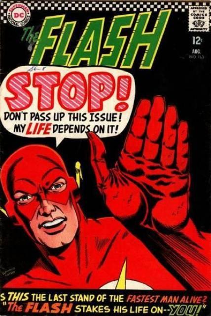 La copertina di Flash 163