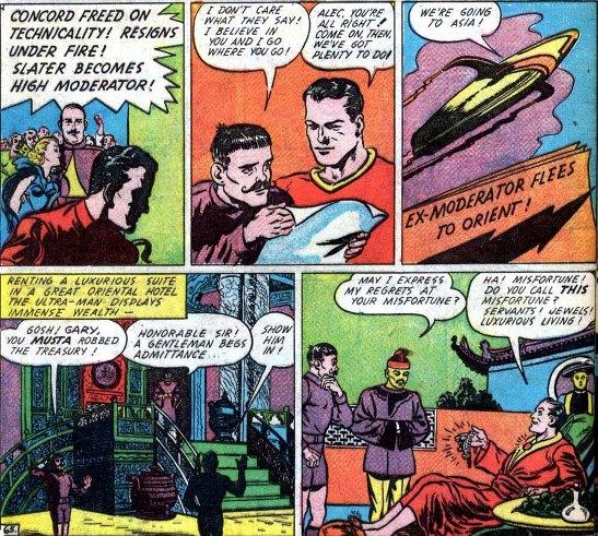 Gary Concord junior l'Ultra-Man figlio del precedente.