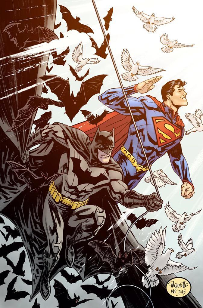 Batman Superman by Paquette