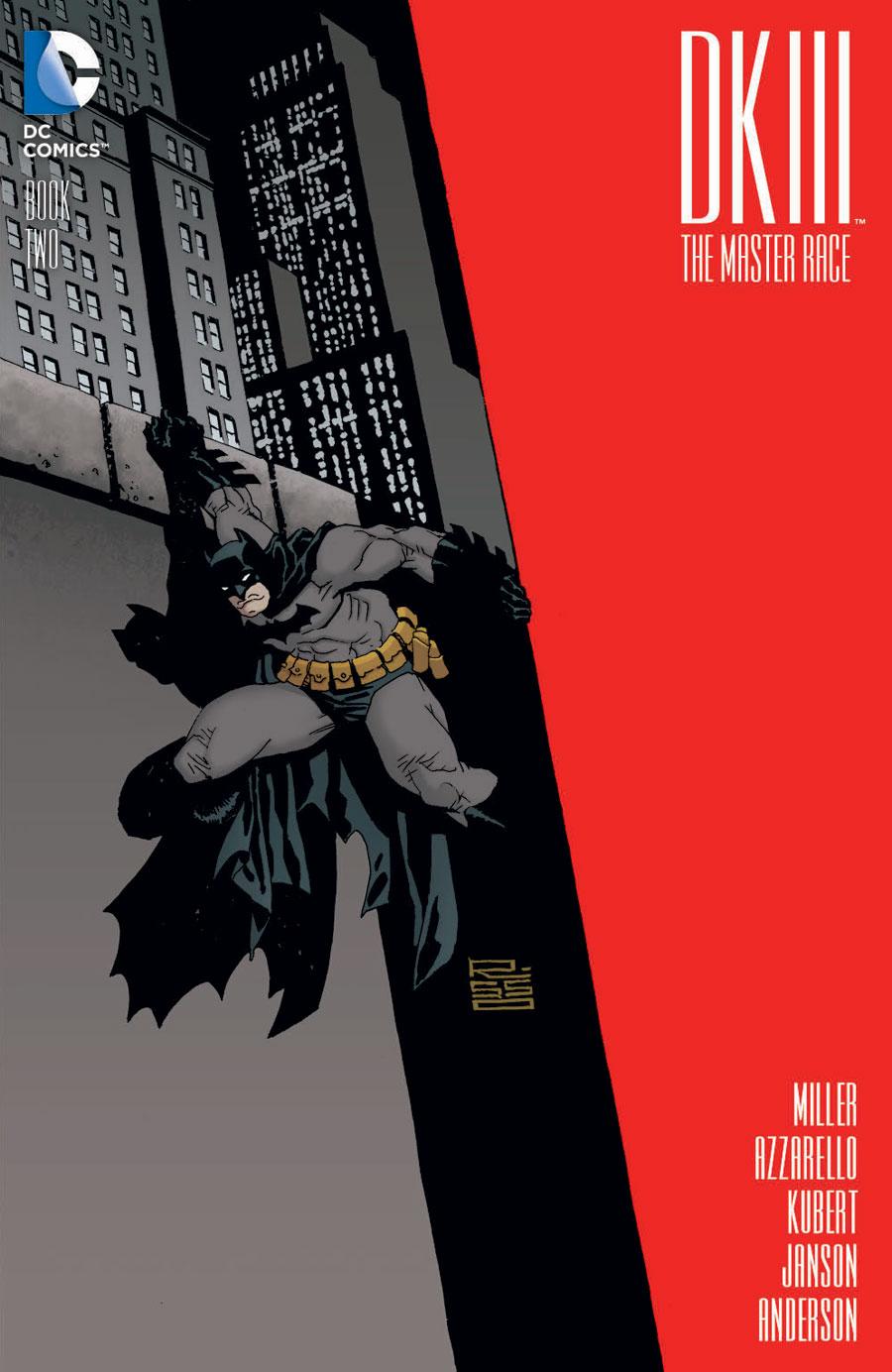 Dark Knight III #2 variant di Eduardo Risso