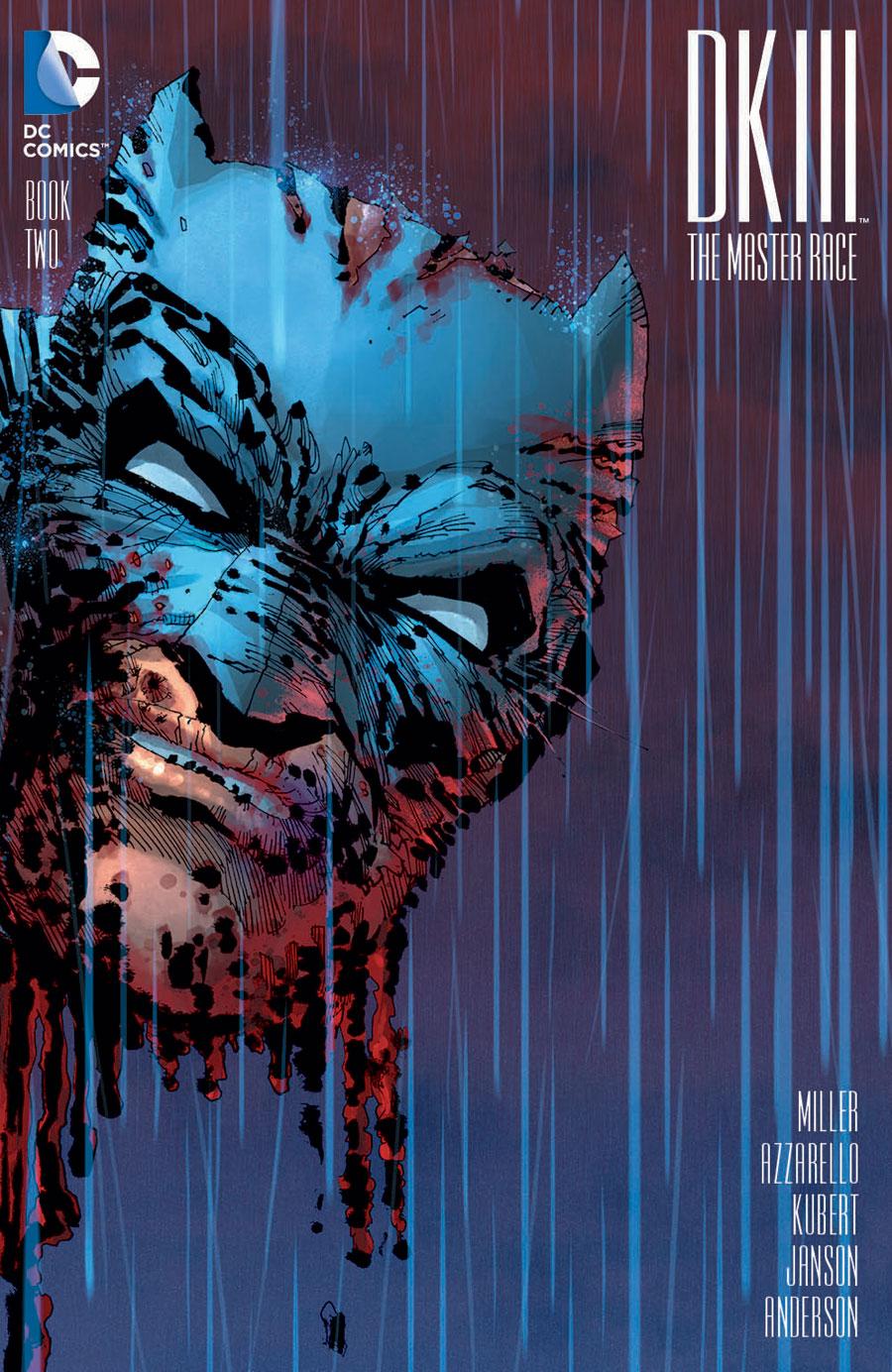 Dark Knight III #2 variant by Frank Miller