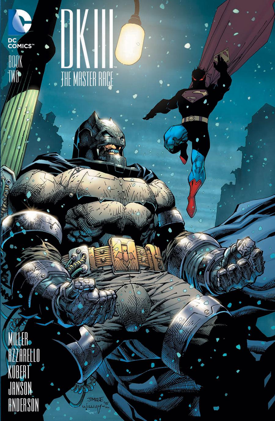 Dark Knight III #2 variant by Jim Lee